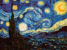 Starry Night, c.1889 Art Print By Vincent van Gogh - 24x18