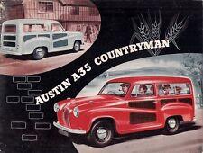Austin A35 Countryman 1956-62 UK Market Foldout Sales Brochure