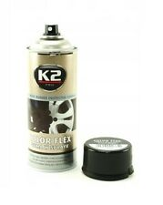 K2 COLOR FLEX Rubber spray L343CM 400ml Black Matt AEROSOL