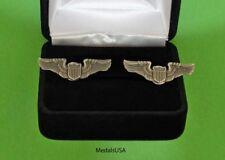 Pilot Wing Cuff Links in Presentation Gift Box - Air Force Cufflinks