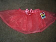 Nwt Girls Healthtex TuTu with Bow Size 12 Months Color Coral
