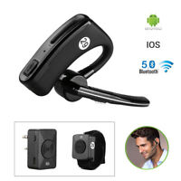 Wireless Bluetooth Headset V5.0 PTT Remote For Kenwood Ham Amateur Two Way Radio