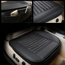 Black PU Car Full Surround Seat Cover Bamboo Charcoal Breathable Cushion Pad