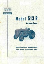 1965 Fiat 615 Tractor Factory Parts Book Industrial