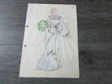 Vintage Fashion Original Art Prints