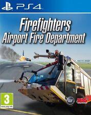 Bomberos AEROPUERTO bomberos PS4 * NUEVO PRECINTADO PAL *