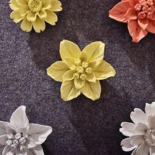 Handmade Ceramic Decorative Flower 3D Wall Decor Room Decoration Art Sunflower