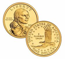 2006 P&D- SACAGAWEA GOLDEN DOLLAR~~FROM MINT ROLLS