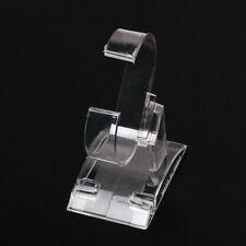 Montre a bracelet Exposition Support Vitrine Support Outil Plastique Clair Y1Q5