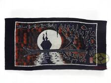 Chinese Folk Art Home Wall Hanging Batik Tapestry - The Fisherman and Cormorant
