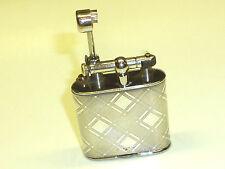 VINTAGE LIFTARM POCKET LIGHTER WITH 935 SILVER CASE -FEUERZEUG - 1930 -NICE LOOK