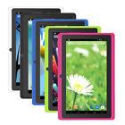 7'' Tablet PC Google Android 4.4 PAD 1GB/8GB Quad Core Dual Cameras WIFI Lot