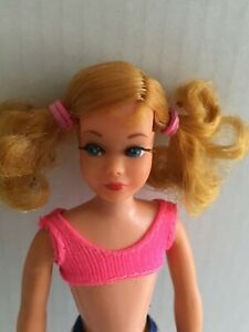 Vintage Mattel 1969 Skipper Doll, Barbie's Little Sister,