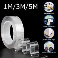 Nano Magic Tape Double-Sided Anti-Slip Invisible Traceless Washable Adhesive Gel