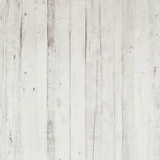 18292 Riviera Maison Driftwood Rustic Wood Effect Grey & White Galerie Wallpaper