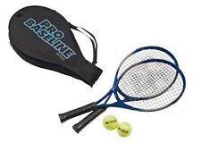Pro base 2 joueur de tennis Set 2 raquettes en aluminium et 2 balles de tennis