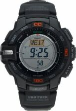 Casio Protrek Triple Sensor Watch PRG-270-1ER Solar Resin Black