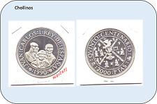 2000 PESETAS DE PLATA  JUAN CARLOS I   AÑO 1990     ( MB12021 )