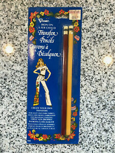Vintage Vogart - Iron On Transfer Pencils - 1992 Retro NEW IN PACKAGE