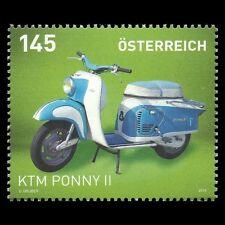 "Austria 2014 - Motorcycles ""Ktm Ponny Ii"" Motor Vehicle - Sc 2483 Mnh"