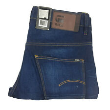 G-Star Gstar Mens Arc 3d Tapered Blue Denim Jeans Size W29 L34 With Tags
