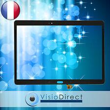 Vitre ecran tactile pour Samsung Galaxy Tab S SM-T800 / T805 noir BronzeTitanium