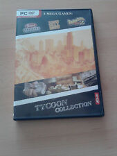 Tycoon Collection ( Tycoon City New York, Roller Coaster Tycoon, ... ) ( PC CD )