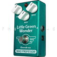 Mad Professor Little Green Wonder PCB Overdrive/Distortion Pedal  - NEW