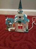 2000 Lemax Village Collection Porcelain Lighted House With Cord