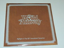 "THE WORLD OF AMWAY HIGHLIGHTS OF 1971 CONVENTION Lp 12""x3 RECORD SET SEALED RARE"