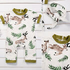 Kids Infant Baby Girls Floral Clothes Jumpsuit Romper Bodysuit Outfits Headband