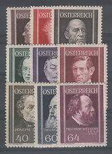 Österreich Nr. 649-657 **