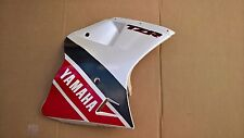 NOS Original YAMAHA Derecho Carenado PANEL LATERAL TZR125 Rojo Blanco Gris 1992