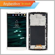 LCD Screen & Touch Digitizer Assembly + Frame For LG V10 H900 H901 VS990 White