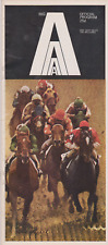 RARE VINTAGE HORSE  RACING PROGRAM  APR 2 1968