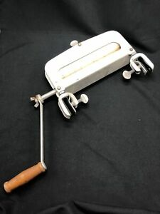 Antique Vintage Clamp on Clothes Clothing Laundry Wringer