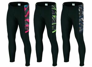 Men's Cycling GEL Padded Tights Trousers Bicycle Compression Pant ANTI-BAC Pads
