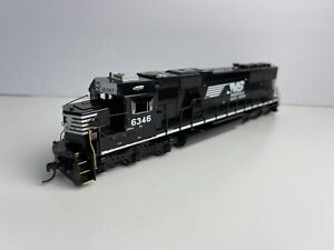 Custom Ho Scale Athearn NS Norfolk Southern SD40E #6346 With Added Details!