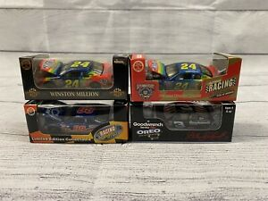 Nascar Lot of 4 1:64 In Excellent Condition Jeff Gordon And Other Drivers.