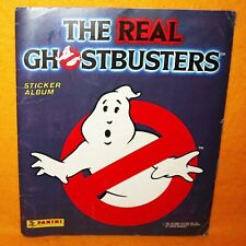 VINTAGE 1988 80s PANINI THE REAL GHOSTBUSTERS ALBUM BOOK (NOT COMPLETE)