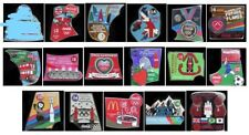 LONDON 2012 OLYMPICS COCA COLA 52 PIN BADGES STARTER PACK