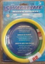 Swimline water sports Dive rings game swimming pool toys learn swim confidence