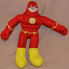 "14"" Flash Justice League Plush Dolls Toys National Entertainment Network Heroes"