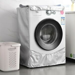 Mini Washing Machine Protective Cover Waterproof Balloon Floral Design Polyester