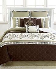 Hallmart Regalia 8 (5) Piece Cal King Comforter Set R361