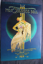 "Margo St. James 1979 Masquerade Ball Randy Tuten 20"" x 28"" Poster"