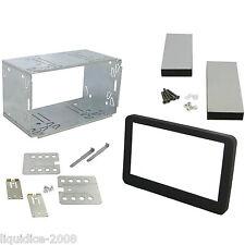 ALFA ROMEO 159 2005 a 2011 Nero Doppio Din Cruscotto Adattatore Kit di montaggio