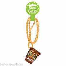 Tropical Hawaii Tiki Shot Glass TOTEM Estate Bbq Party Perline Collana Catena