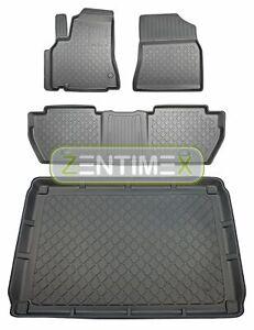 Z330262 SET Kofferraumwanne Gummifußmatten für Peugeot Partner Tepee 2 Vor-Facel