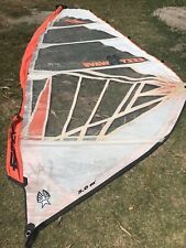 Ezzy 5.0m wave sail fair condition